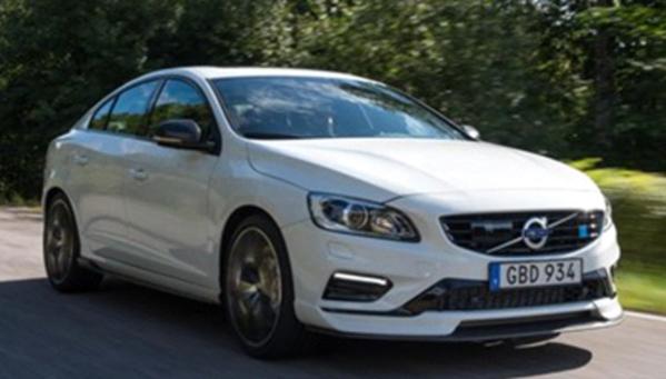 2018 Volvo S60 and V60 Polestar White