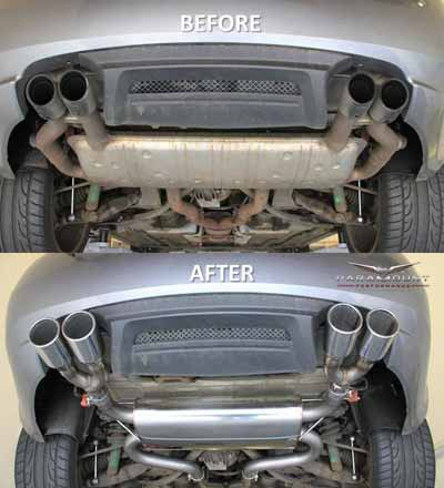 Exhaust Performance Parts and Service