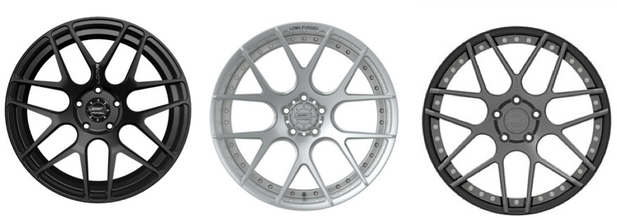 Loma alloy Wheel Range
