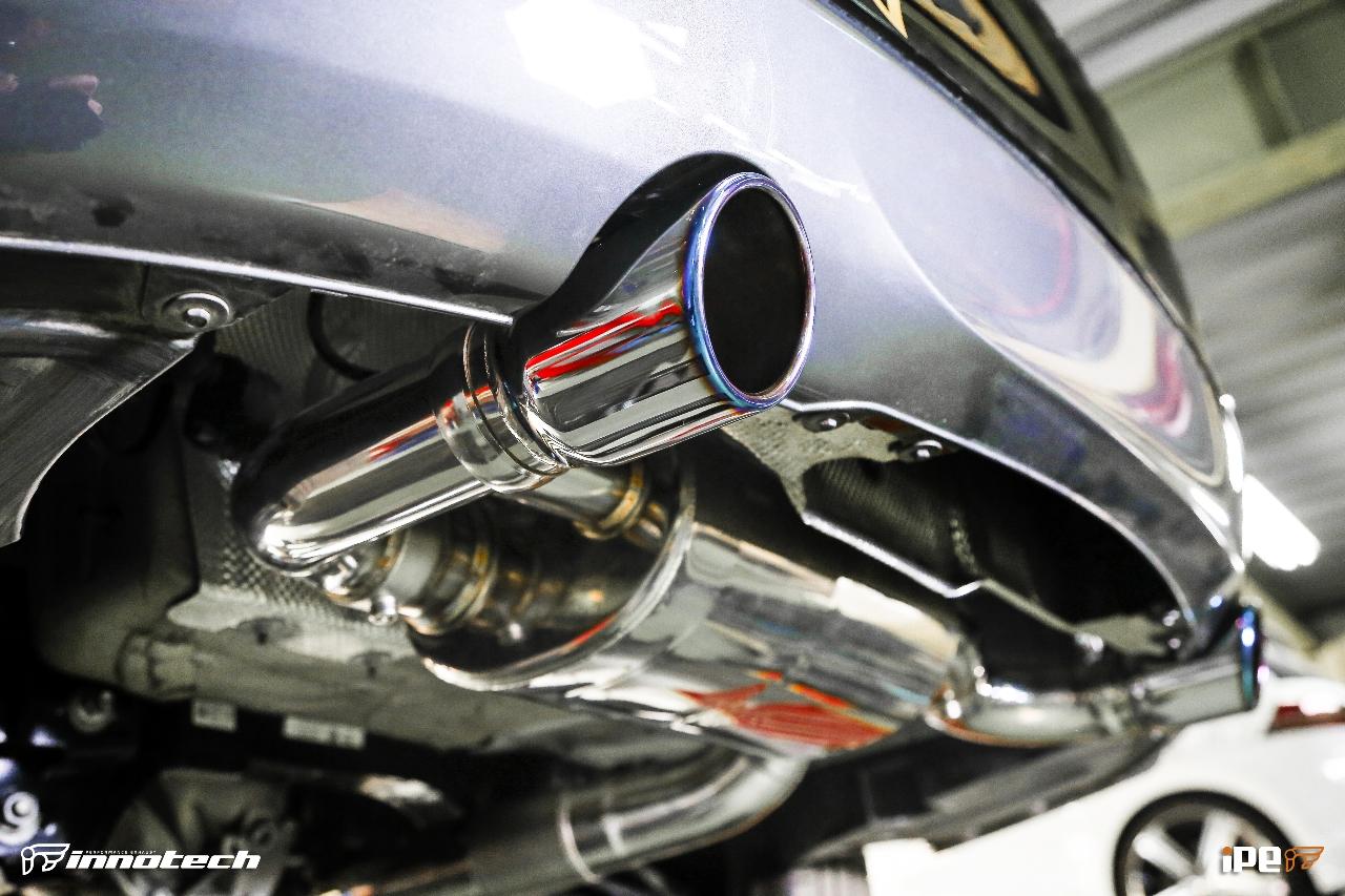 iPE BMW F22 M235i Exhaust 02