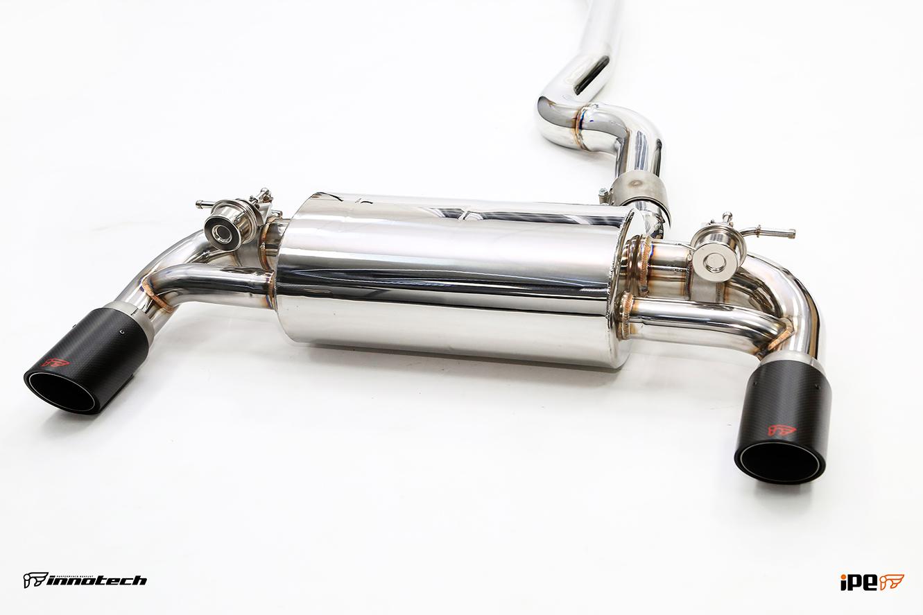 iPE BMW F22 M235i Exhaust 06-mufflers