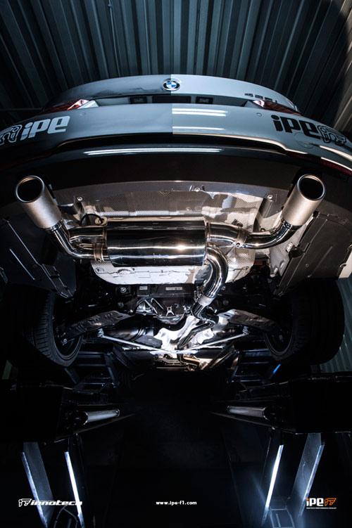 iPE BMW F32 435i Exhaust 03