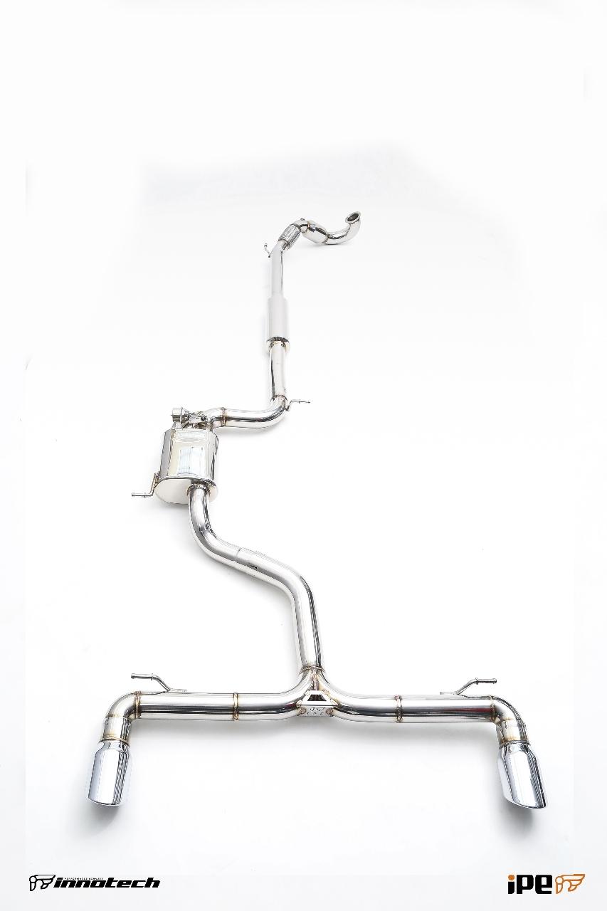 Golf IPE Exhaust System