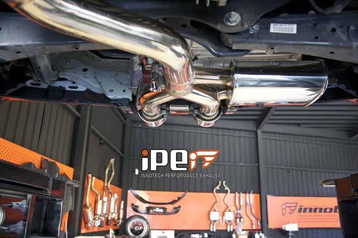 VW Golf R IPE Exhaust uk