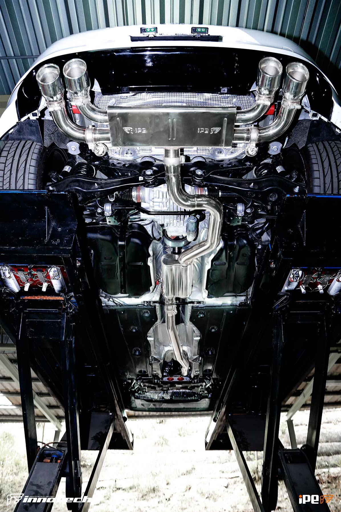 Vw Golf R MKVII IPE Exhaust