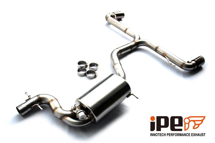 VW Scirocco R IPE Exhaust