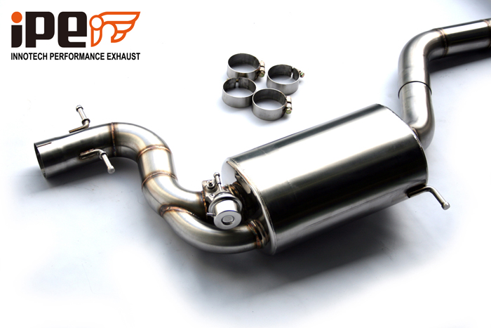 iPE Volkswagen Scirocco R Exhaust fitting