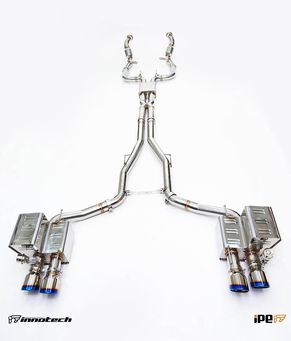 IPE Maserati Ghibli Exhaust System