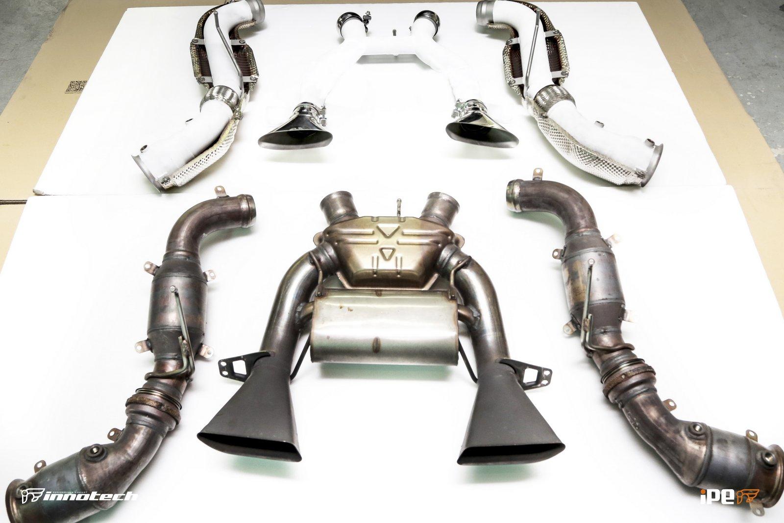IPE McLaren 650S Exhaust system