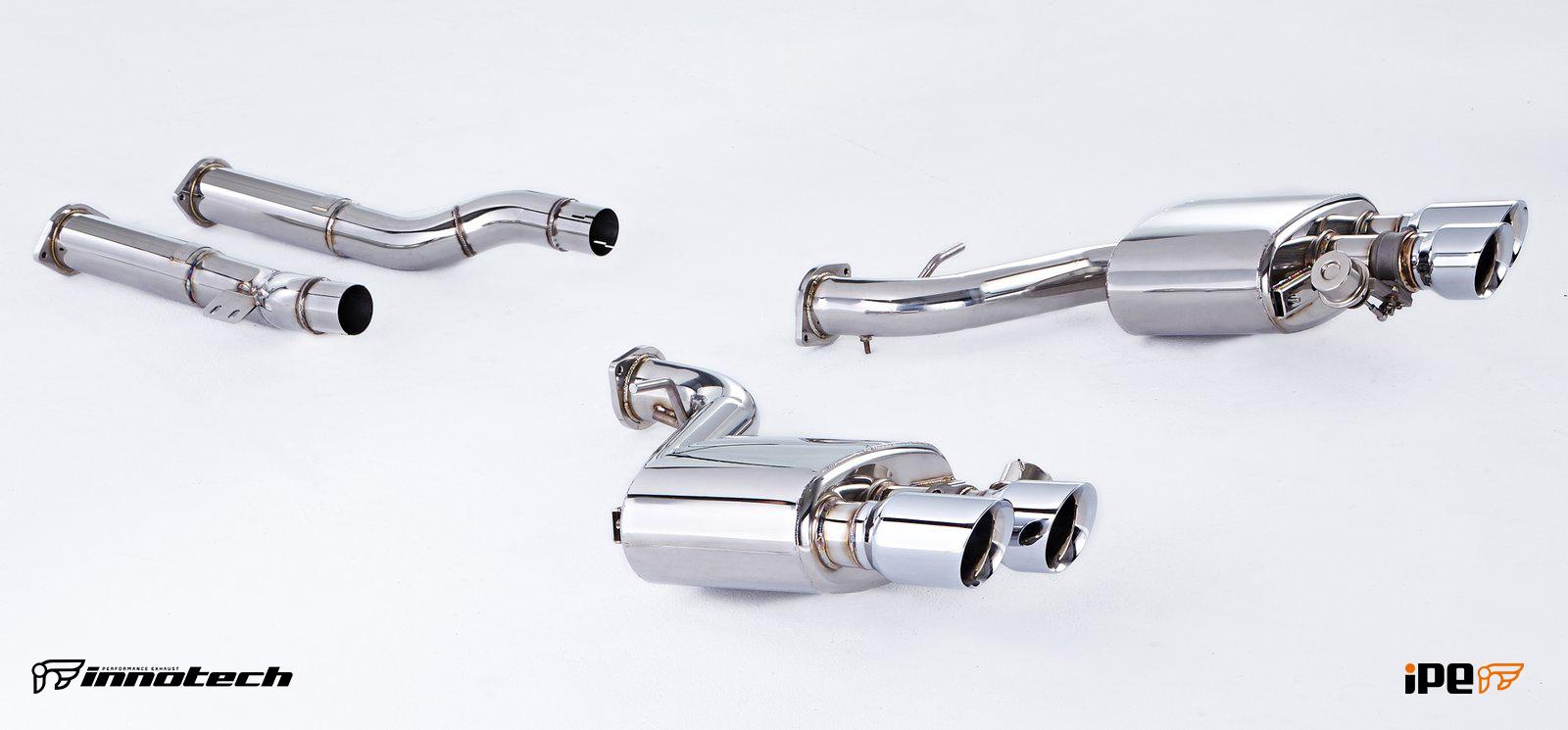 Ferrari 599 Exhaust system