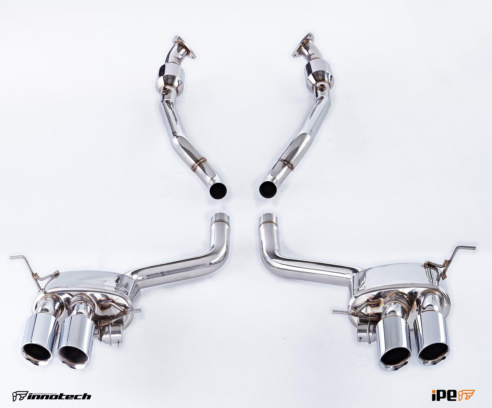 Maserati Quattroporte IPE Exhaust System