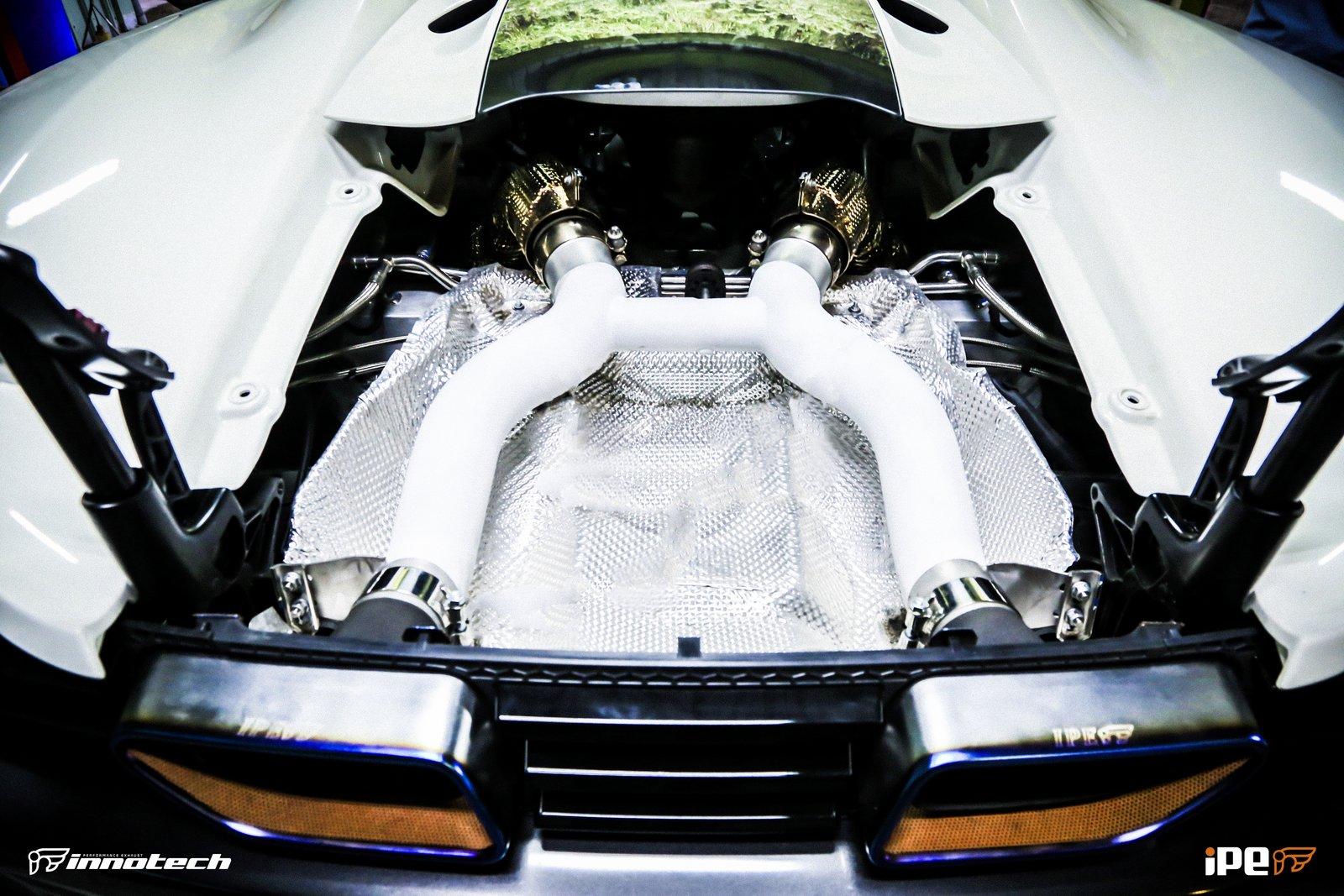 IPE McLaren Exhaust system