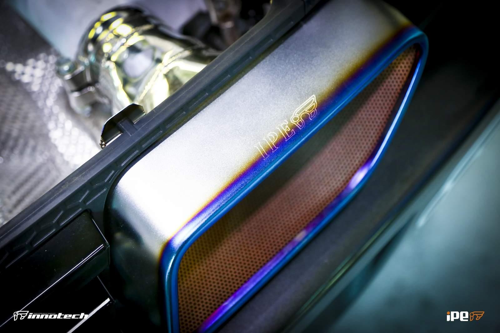 blue flame IPE McLaren 650S Exhaust system