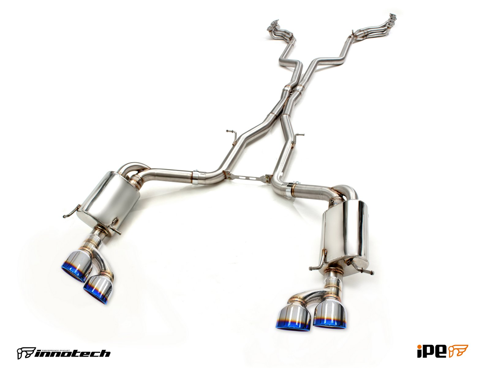 C63 AMG exhaust full system