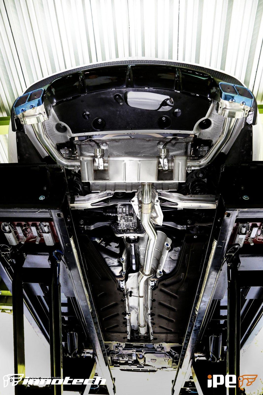 IPE Mercedes  AMG Exhaust