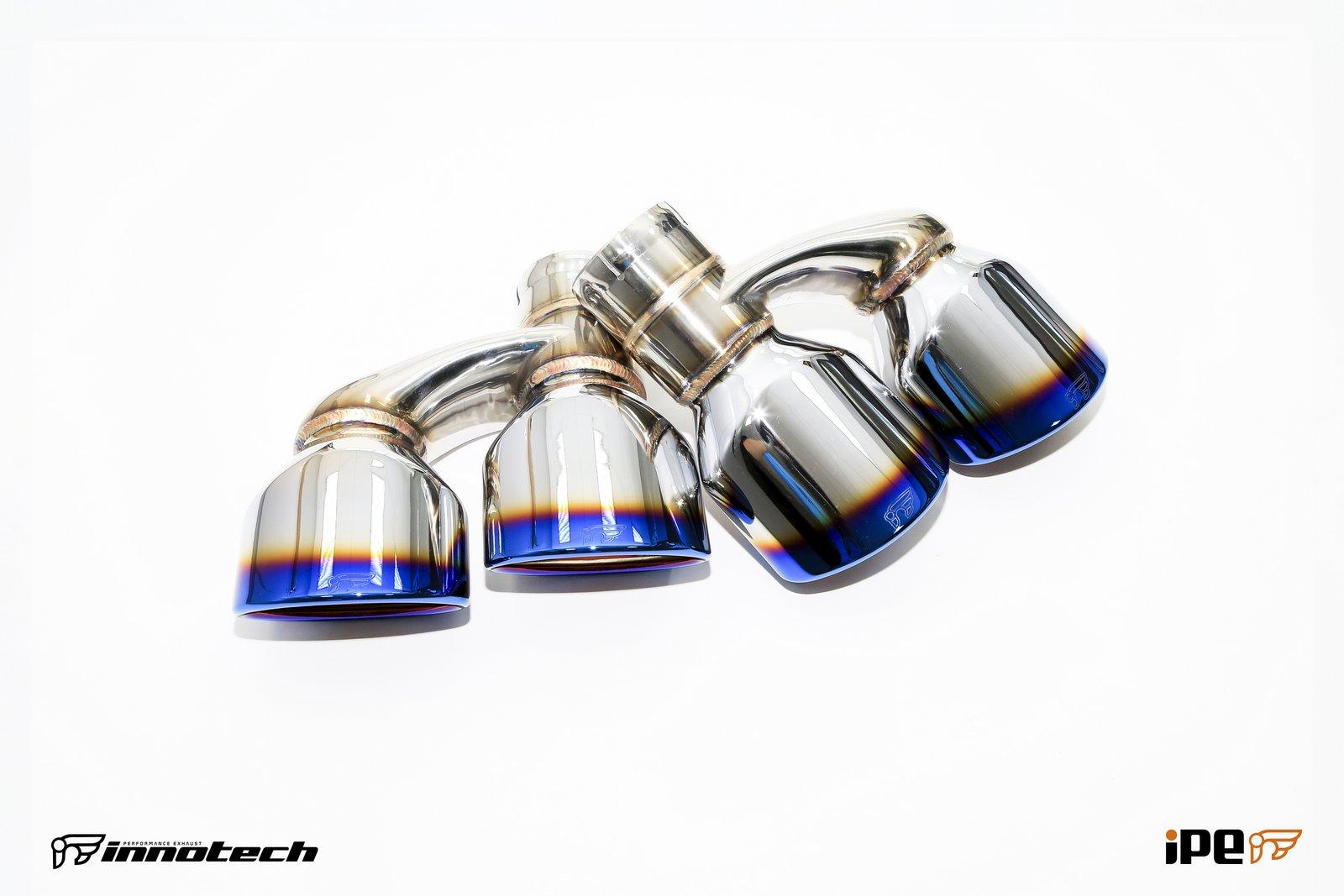IPE Mercedes C63 Exhaust parts