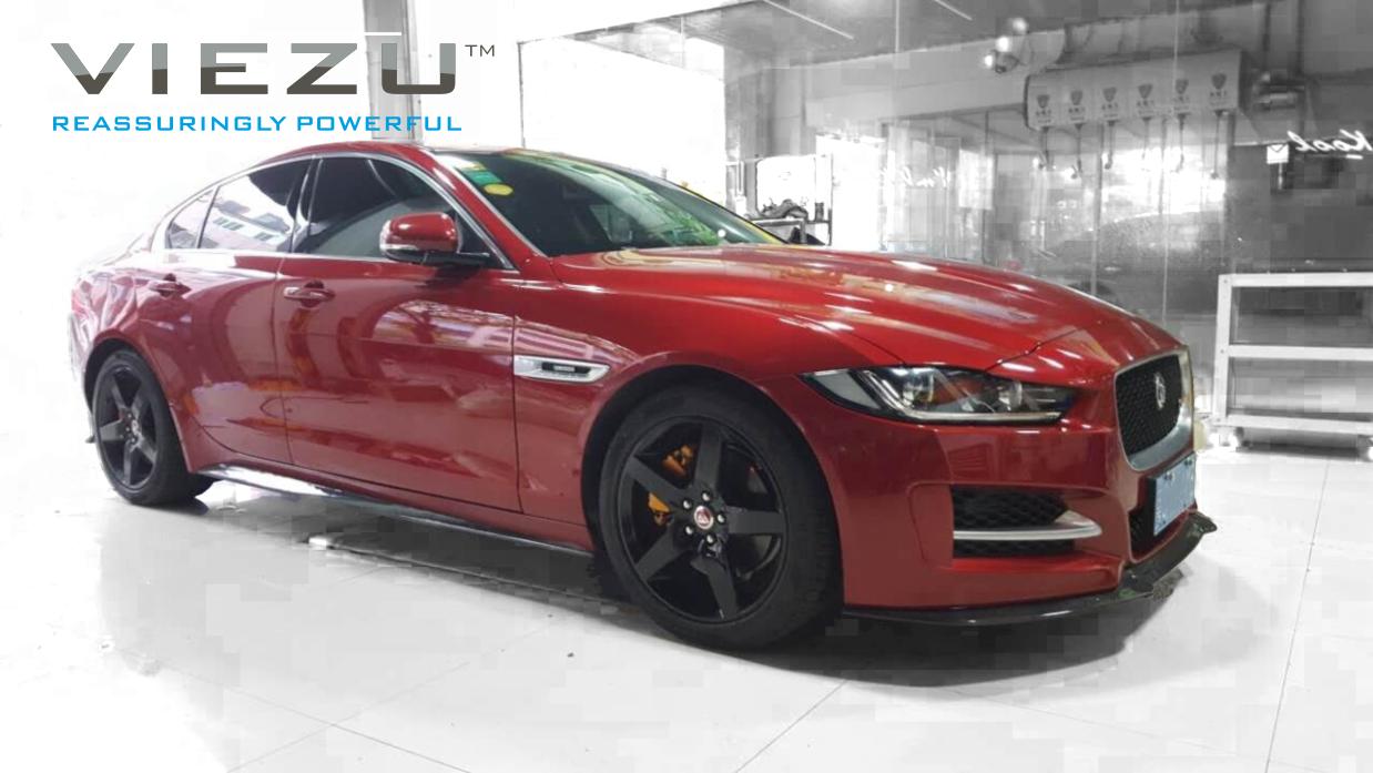 Viezu launches its new aftermarket carbon fibre body kit for the Jaguar XE