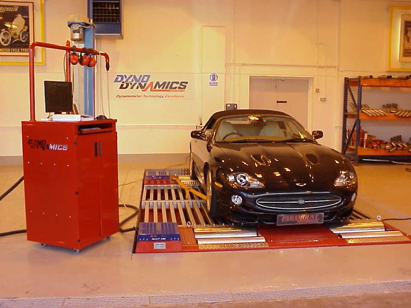 Jaguar XKR 4.2 tuning