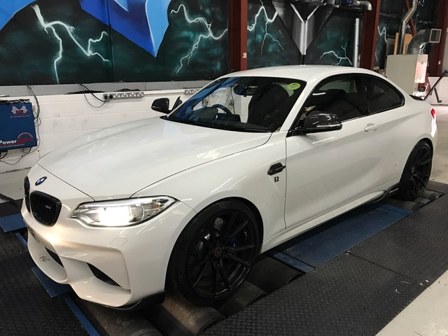 bmw m2 performance tuning and remapping with exhaust upgrades