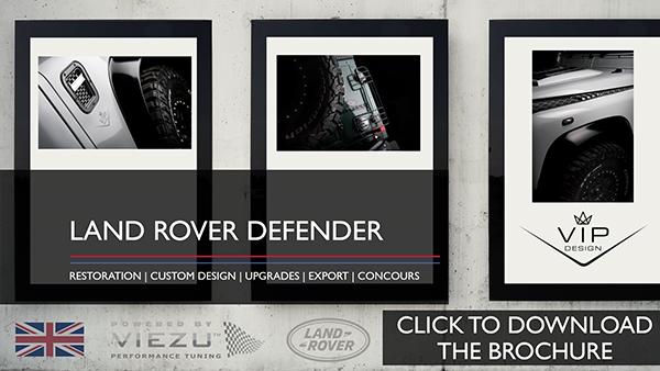 Land Rover Defender Restoration click to download the brochure