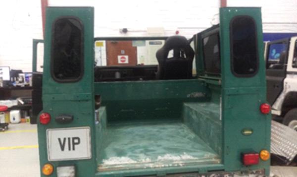 1987 Land Rover Defender Conversion