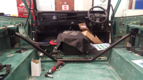 Land Rover Defender Project