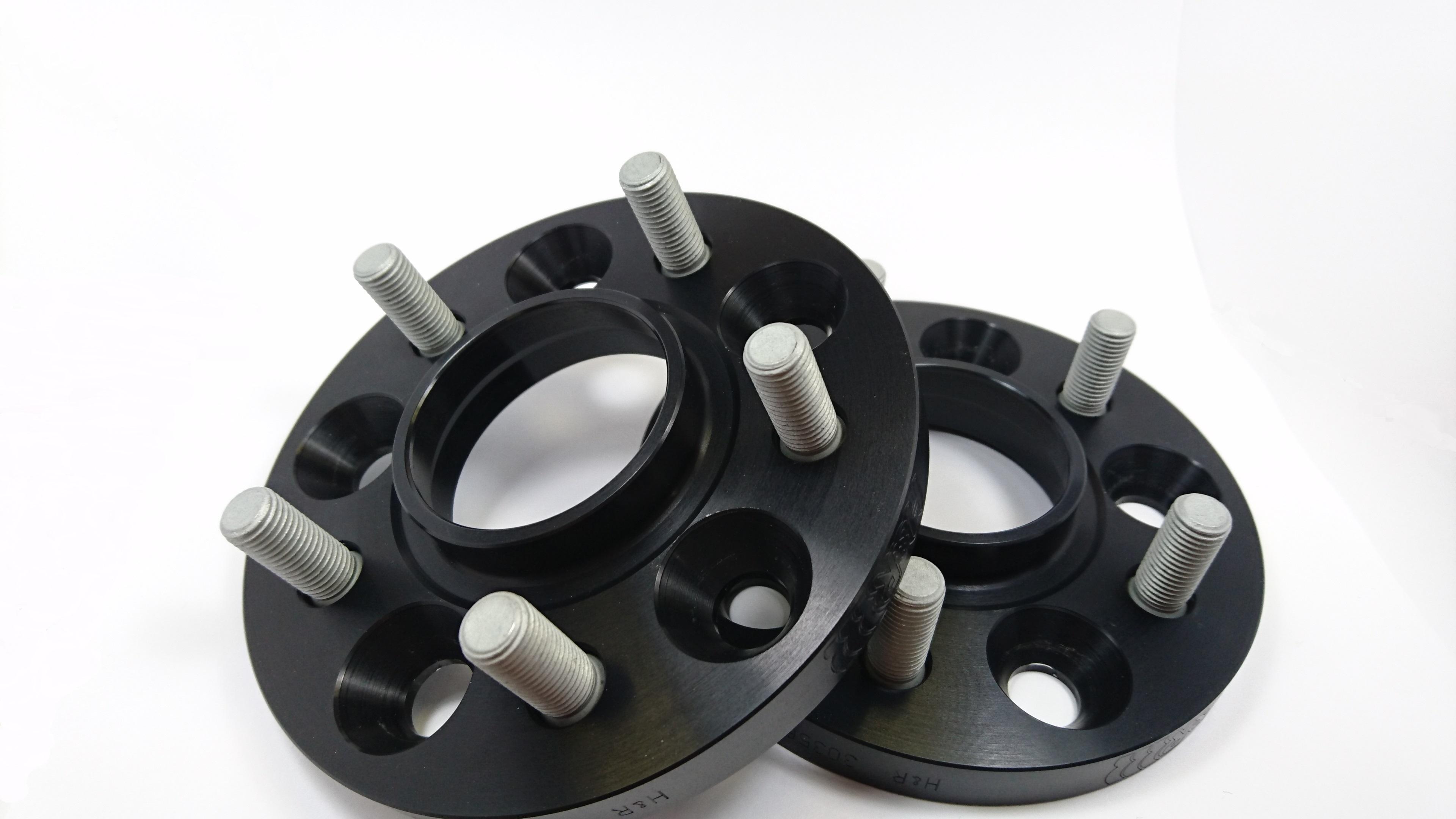 Black Wheel Spacers