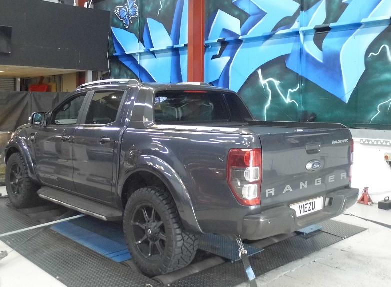 Viezu Ford Ranger Wildtrak Tuning Remap Dyno
