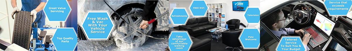 Great value servicing top quality parts, free wash & vac, comfortable waiting room tailored service exceeds requirement