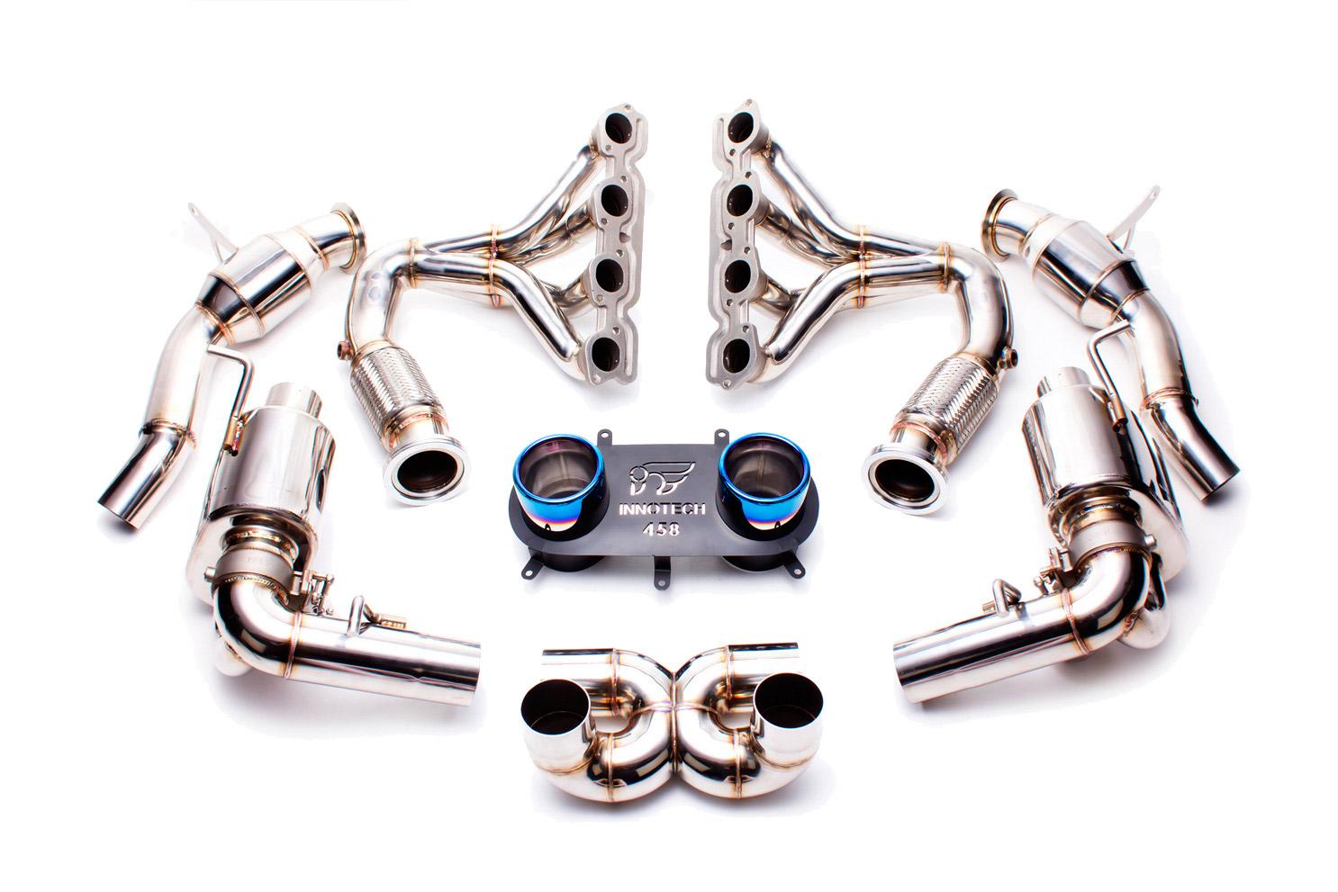 IPE Ferrari 458 Exhaust System