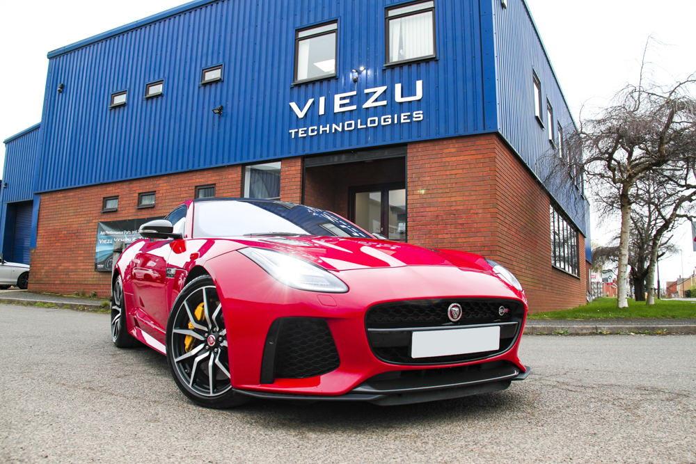 Jaguar F-Type Exhaust Upgrade and Performance Tuning