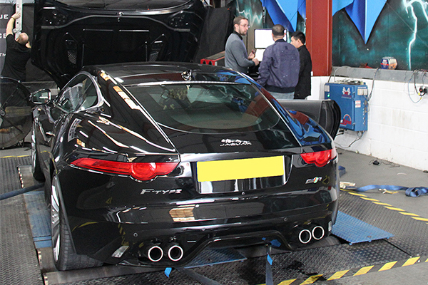 Jaguar F-Type Remap and Dyno