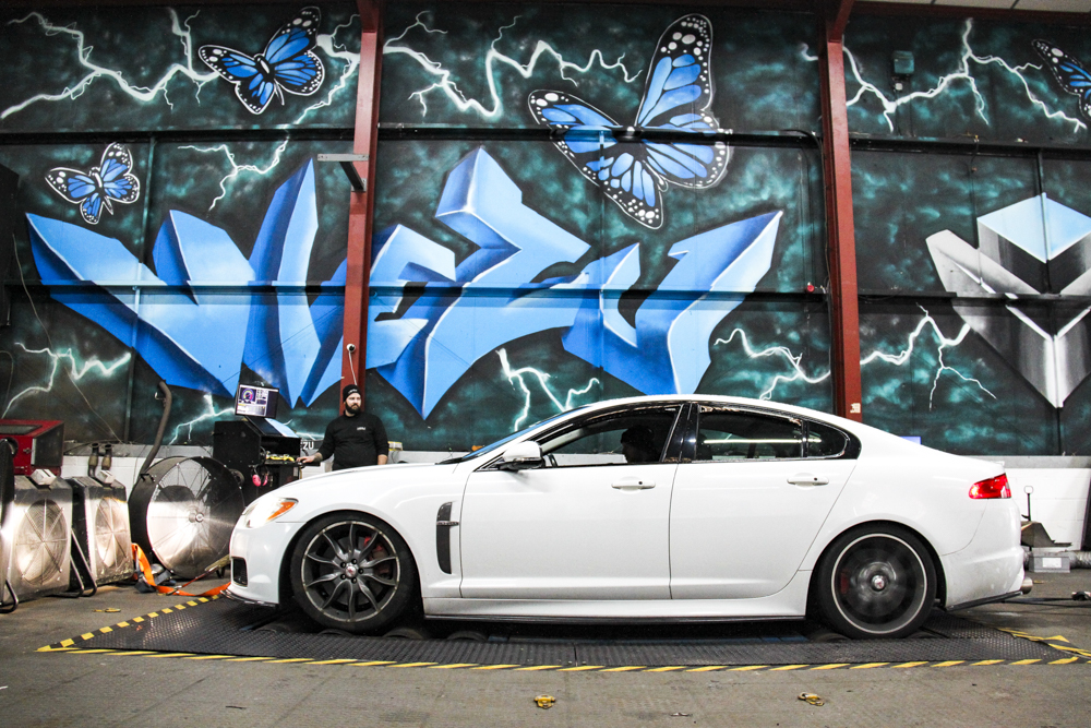 Jaguar XFR 650 BHP Performance Package Andrew Conway
