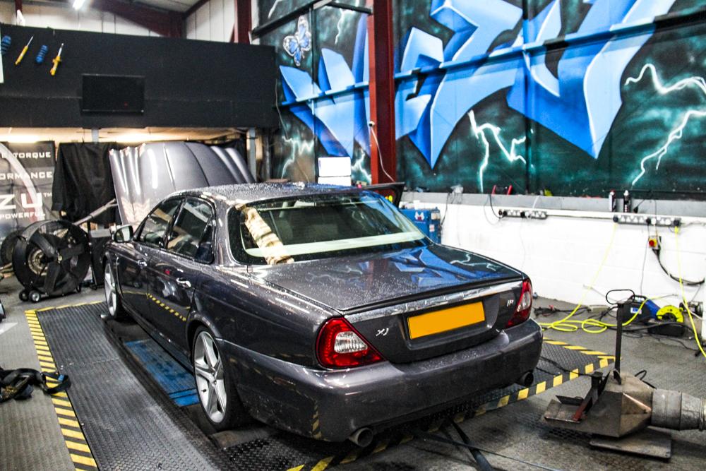 Jaguar XJ Tuning for Water Methanol