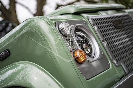 Land Rover Defender Heritage Restoration - LED Light Upgrade