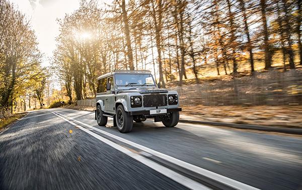 Land Rover Defender VIP vehicle restoration finished build project