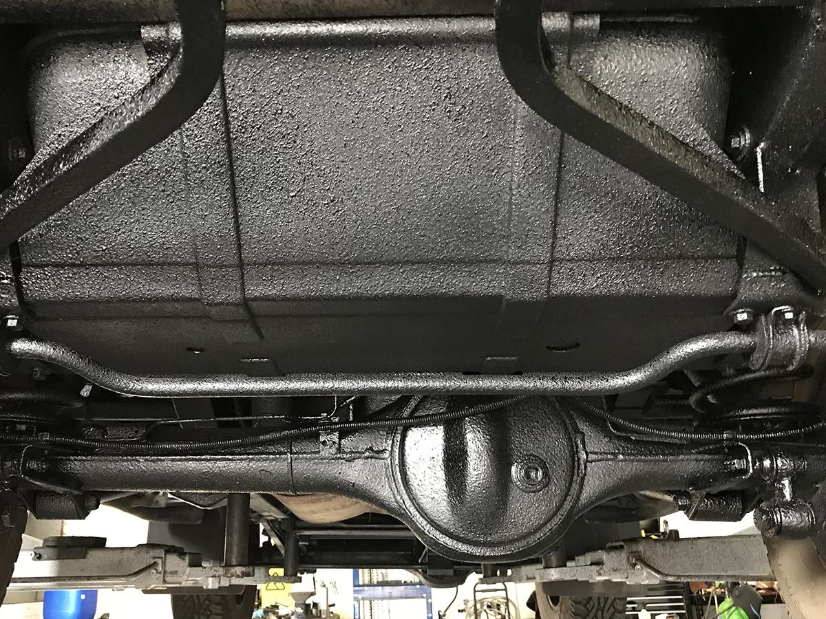 Underseal Land Rover Defender