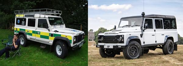 Land Rover defender 110 VIP restoration