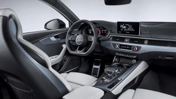 New Audi RS4 Interior
