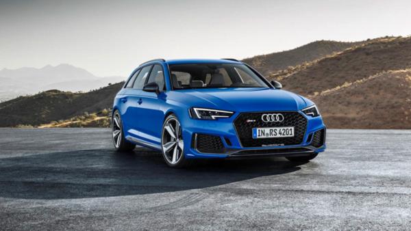 New 2018 Audi RS4
