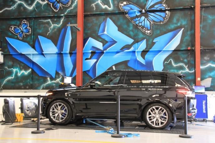 Range Rover SVR ECU Remap and Supercharger Pulley Upgrade