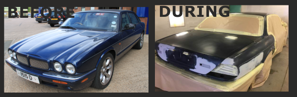 Jaguar XJR Restoration Project