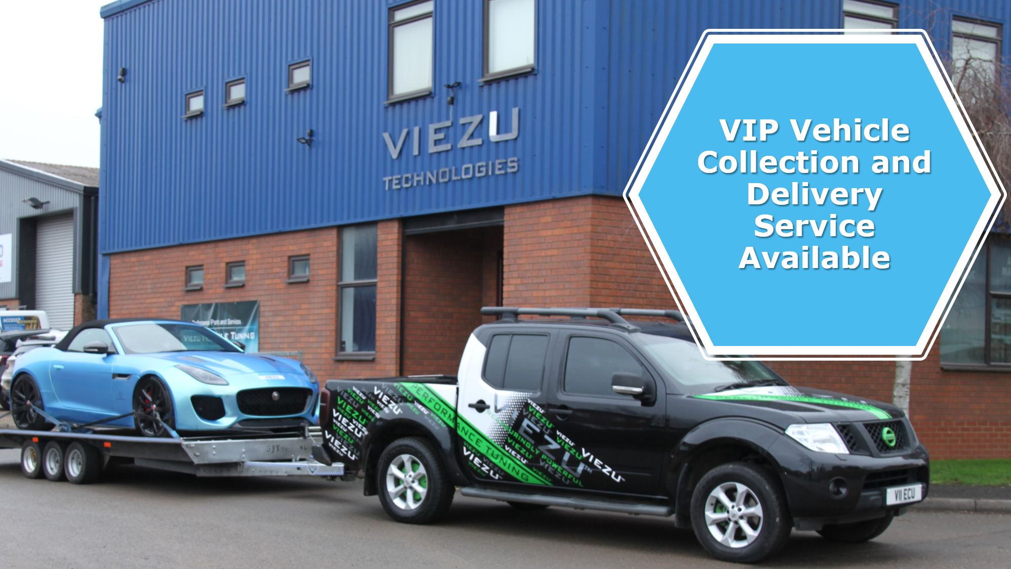 vip vehicle collection and delivery service warwickshire