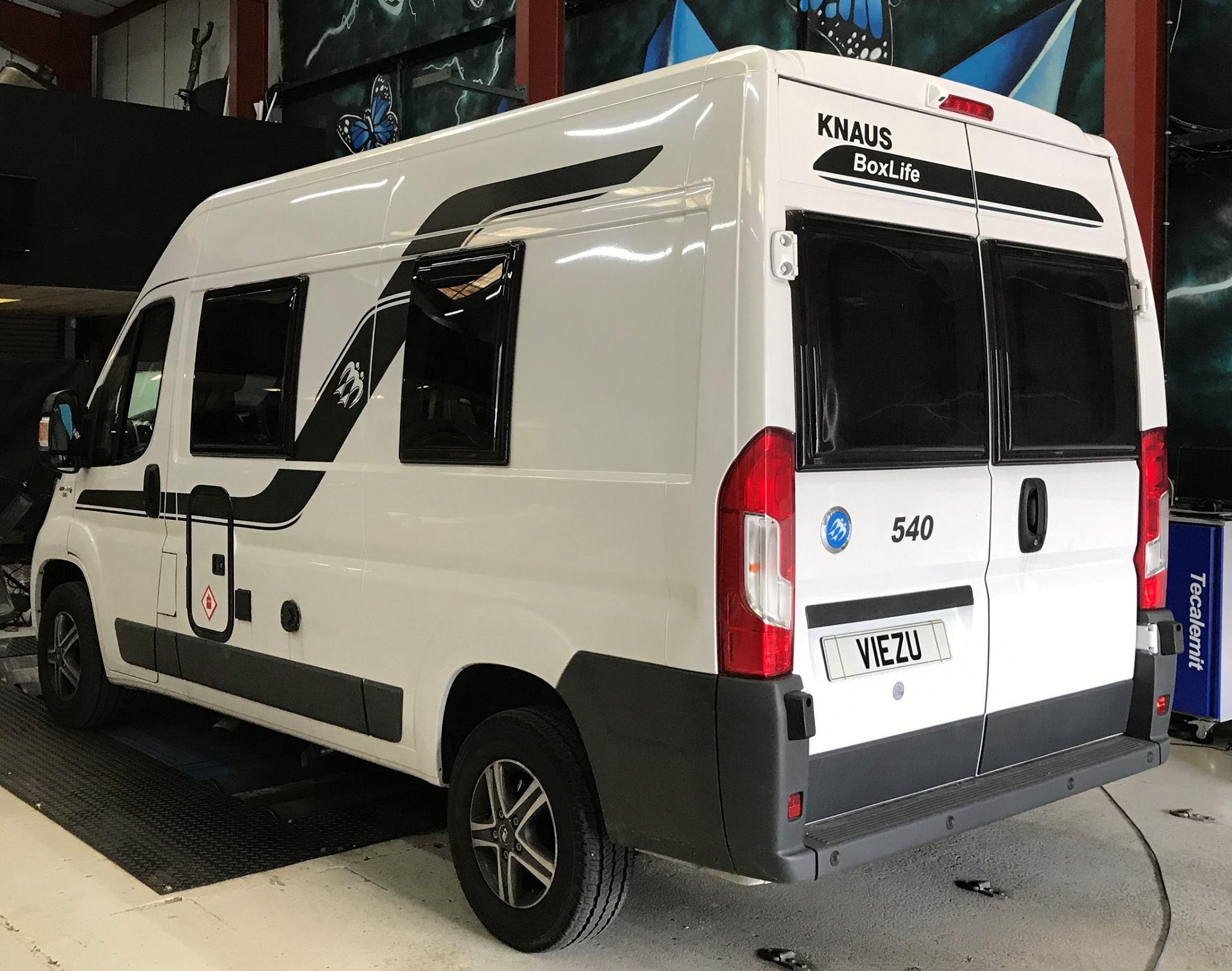 Viezu Motorhome Custom engine tune knaus motorhome fuel economy