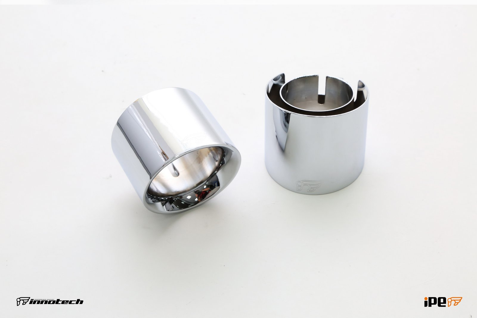 iPE Porsche 981 Boxster Exhaust Chrome Polished Tips