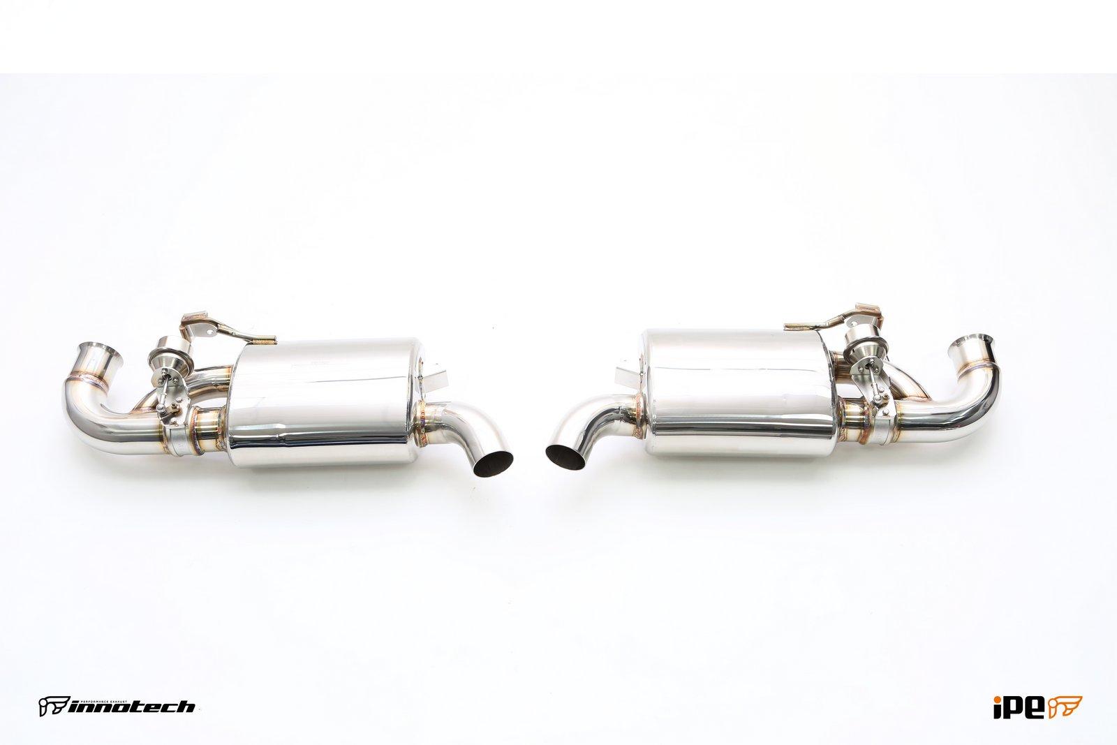iPE Porsche 987 CaymanBoxster Exhaust Valvetronic Mufflers