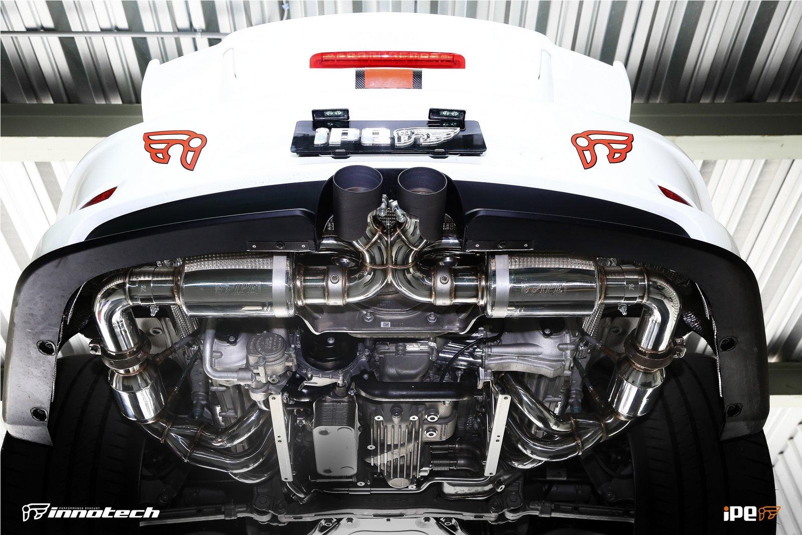 iPE Porsche 991 GT3 Exhaust Full System