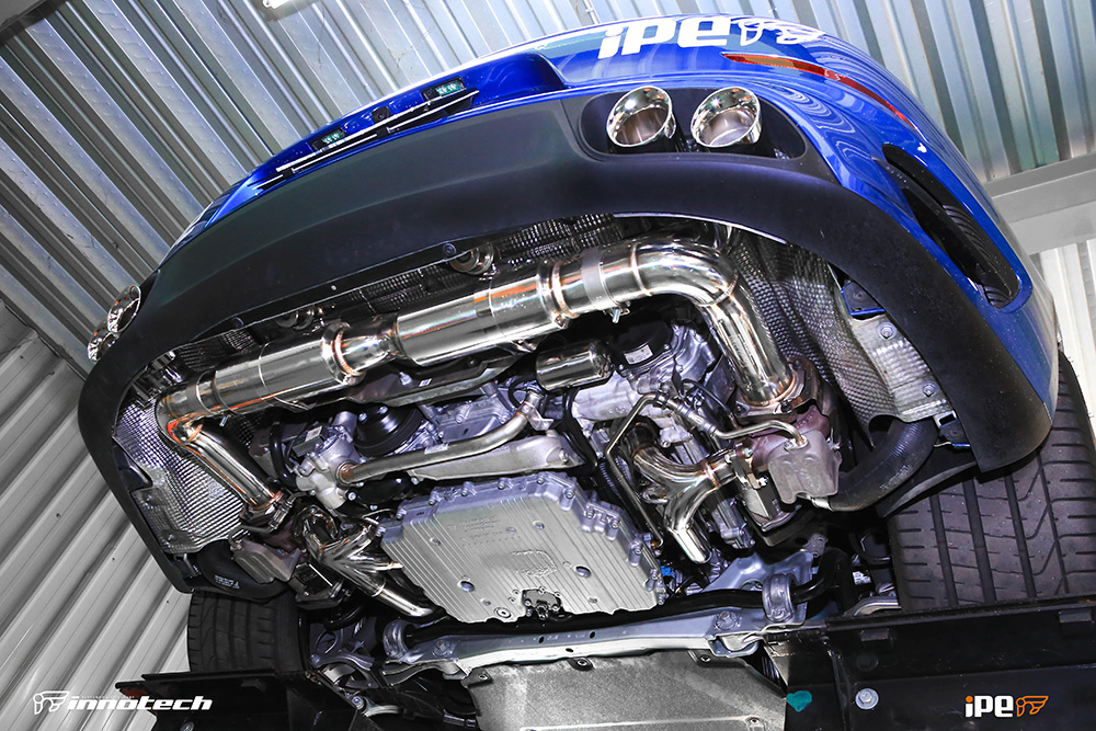 iPE Porsche 991 Turbo Exhaust Full System