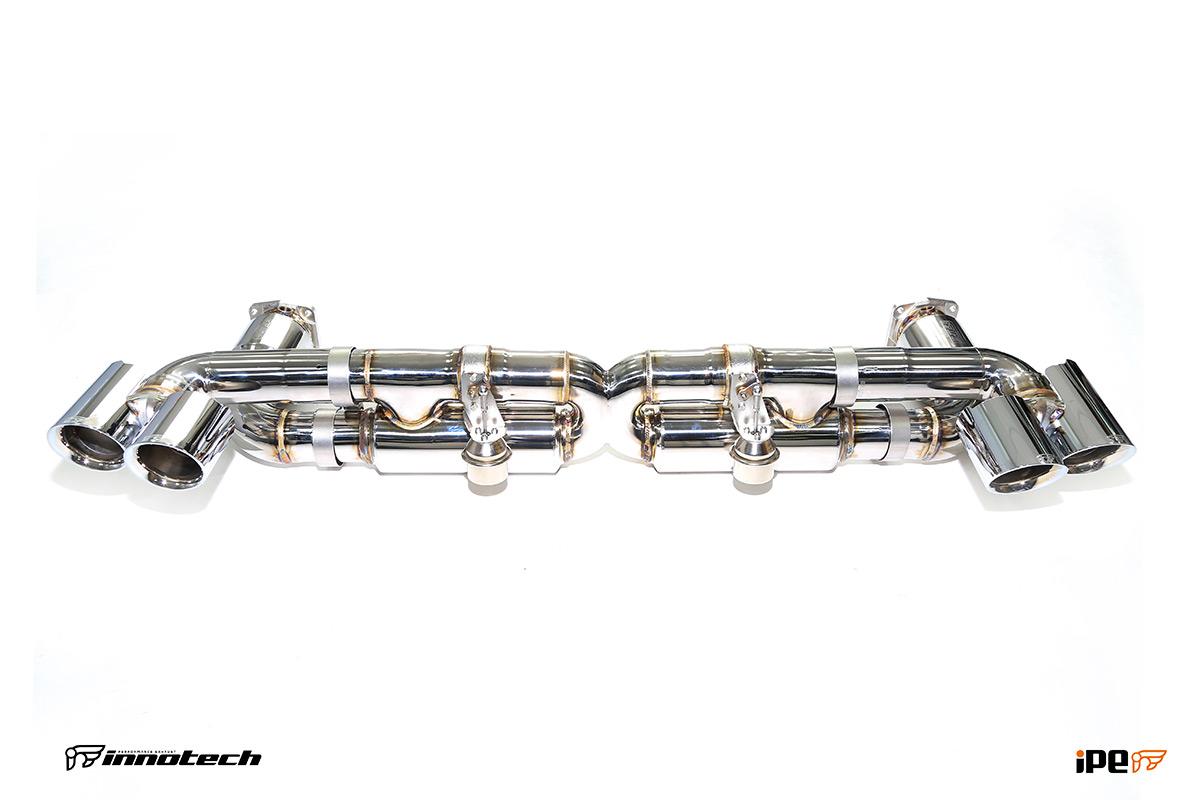 iPE Porsche 991 Turbo Exhaust Valvetronic System