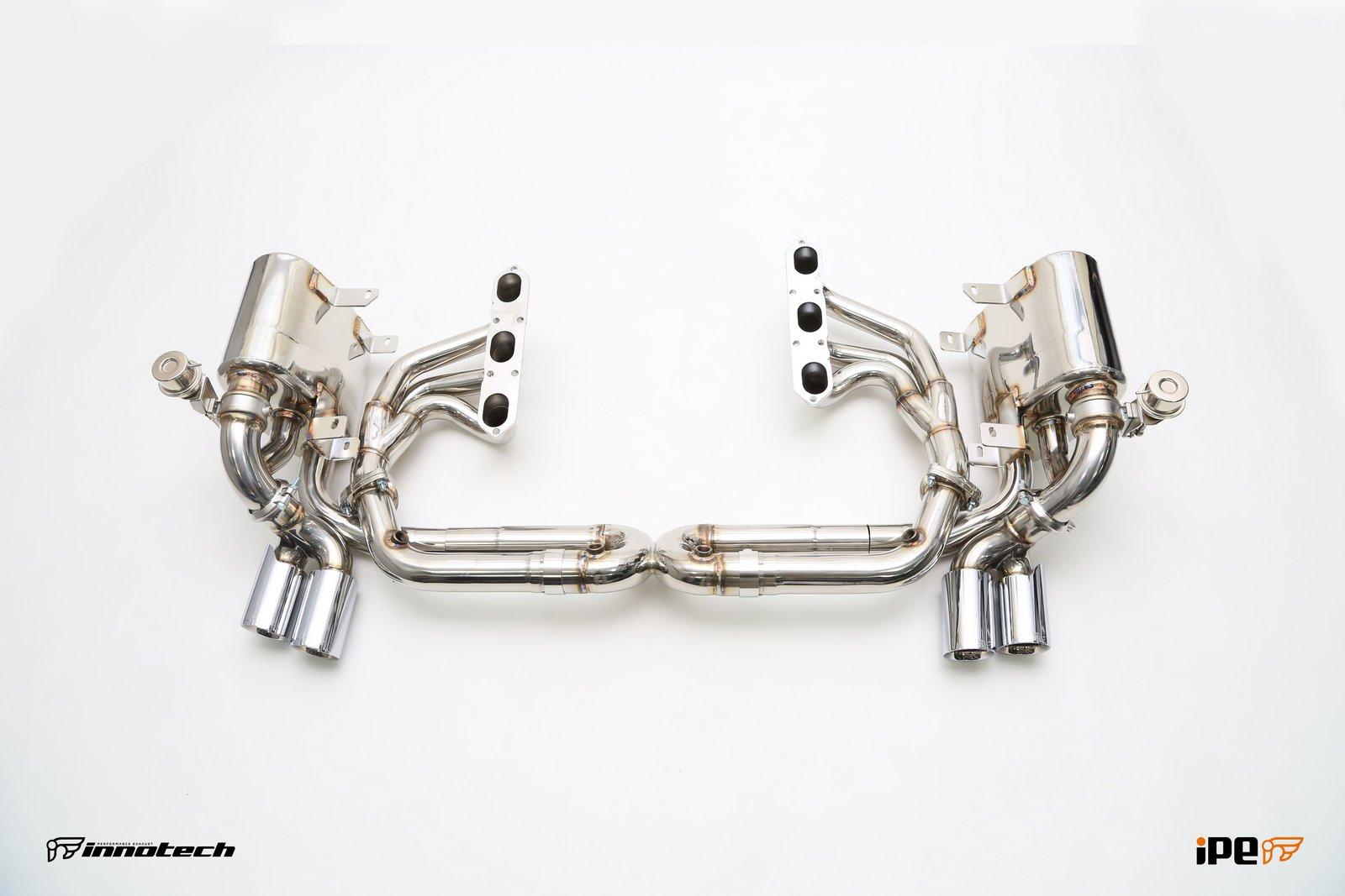 iPE Porsche 996 TT Exhaust Full System